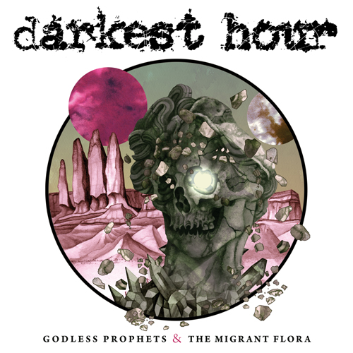 darkest hour godless prophets the migrant flora album art